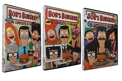 Bob's Burgers: Complete Seasons 6 7 8 DVD Sets Animated TV Brand NEW US seller