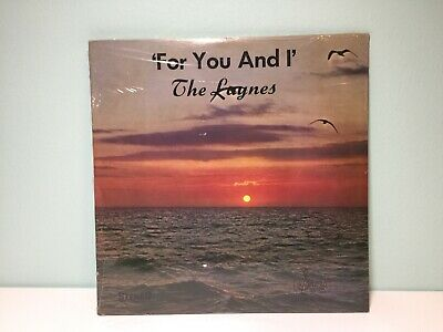 THE LAYNES - For You And I LP Private Gospel Xian Sonora Records SEALED