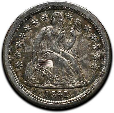 1841O Silver Seated Dime 10¢ Coin Lot# A 435
