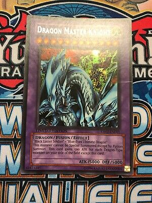 YuGiOh Dragon Master Knight - UE02-EN001 - Ultra Rare - Limited Edition Moderate