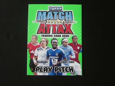 Topps MATCH ATTAX - Official Play Pitch - 2010-2011