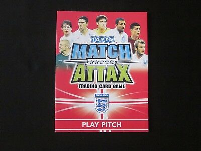 Topps MATCH ATTAX - Official Play Pitch - England - World Cup 2010