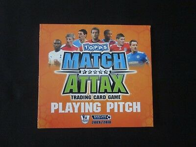 MATCH ATTAX 2009-2010 Official Playing Pitch - with squad storage spaces