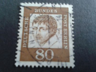 Early Berlin/Germany used stamp