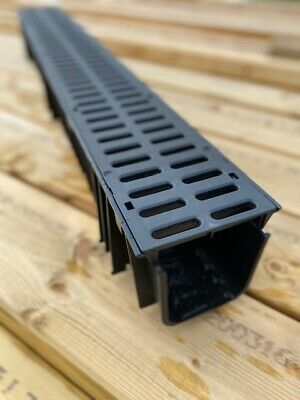 CLEARANCE Heavy Duty PVC or Galvanised Channel Drain Grating 1m Clark Drain