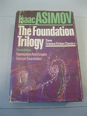 The Foundation Trilogy Isaac Asimov Book Club Edition