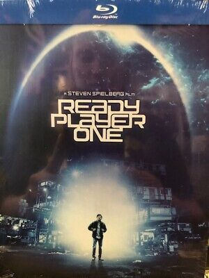 Ready Player One (Blu-Ray & DVD) Limited Edition STEELBOOK