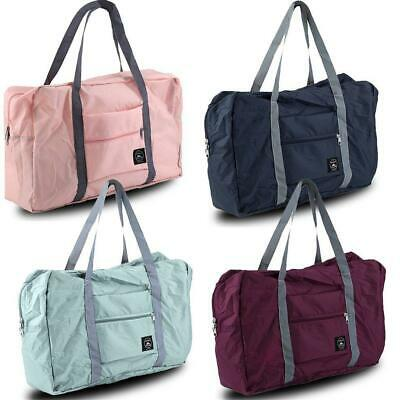 Folding Waterproof Travel Bag Light Portable Shoulder Handbag Tote Shopper