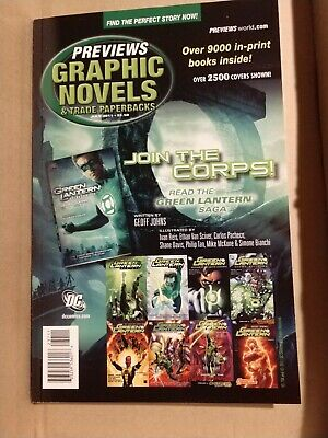 Previews Graphic Novels catalogue July 2011 New