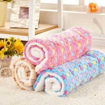Pet Bed Mattress Dog Cat Cushion Pillow Mat Blanket Soft Winter Warm Large EU