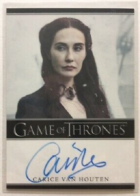 Carice van Houten Autograph as Melisandre from Game of Thrones Season 4