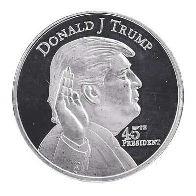 1PCS Donald Trump 45th President Silver Coin US. 2020 Make Liberals Cry Again EN