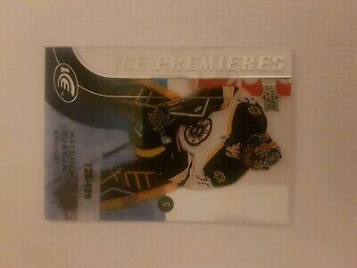 2015-16 ICE PREMIERES ROOKIE MALCOLM SUBBAN RC SP SERIAL#'d125/499 CARD#187