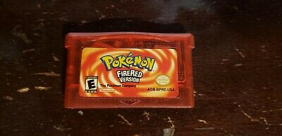 Authentic Pokemon: FireRed Version (Nintendo Game Boy Advance) Game GBA SP
