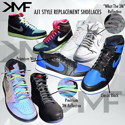 Jordan 1 Flat Replacement Colorful Shoelaces AJ1 Laces Color BUY 2 GET 1 FREE