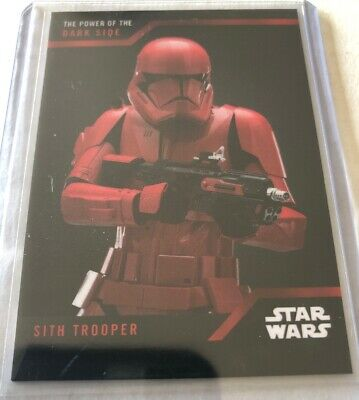 SDCC 2019 Star Wars Power Of The Dark Side #26 Rare Red Trooper Card