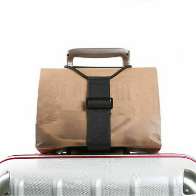 Adjustable Luggage Suitcase Belt Add A Bag Strap Carry On Bungee Travel Tool