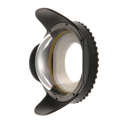 Meikon 67mm Dive Fisheye Wide Angle Lens for M67 Underwater Housing Case
