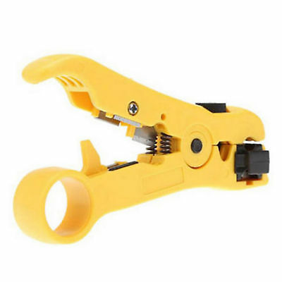 Rotary Coaxial Coax Cable Wire Cutter Stripping Tool RG59 RG6 RG7 RG11 Stripper