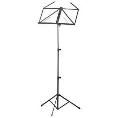 Stagg MUS-A3 Collapsible Music Stand with Bag - Black #P364