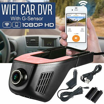 1080P HD Mini Car DVR Camera Dash Cam Video Recorder WIFI G-sensor Night Vision