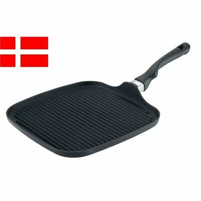 Scanpan - Ergonomic Handled Square Grill Griddle 28x28cm (Made in Denmark)