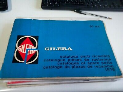 Catalogue Spare Parts Chassis and Engine Gilera Eco 50