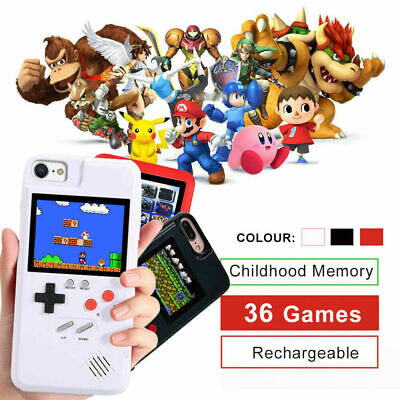 36 Games Retro Classic Game Case iPhone player case  for iPhone XS XR 7 8 6 Plus