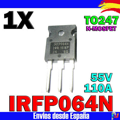 82 TRANSISTOR IRFP064N pour chauffage clim Peugeot Renault Citroen Pate Ther