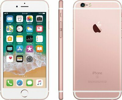"Apple iPhone 6S - Rose Gold 4.7"" Display 64GB - Factory GSM Unlocked Smartphone"