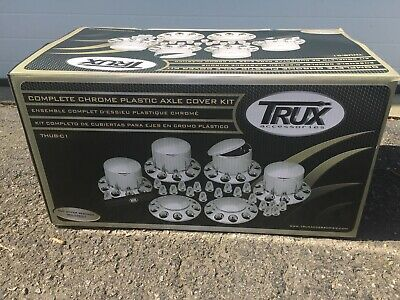 TRUX Front & Rear Complete Chrome ABS THUB-C1