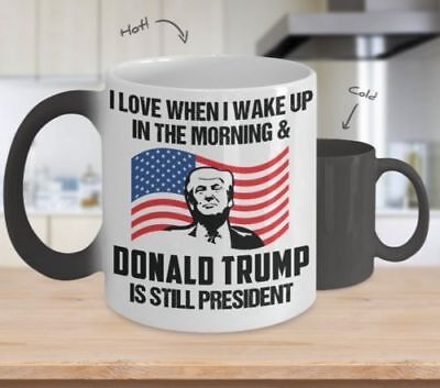 I Is Morningamp; In When Love Wake Up Trump President Donald The ZuTPXiOwk