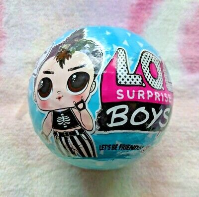 LOL Surprise BOYS ball - Series 1 Authentic MGA - Sisters Glam Glitter Bling
