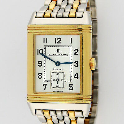 Jaeger LeCoultre Reverso GT 270.1.62 Q2705120 Grande Taille 18K Gold /SS 26x42mm