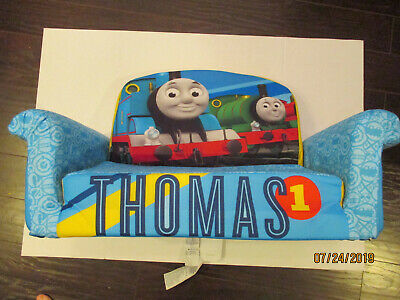 Thomas Train Kids Toddler Padded Foam Flip Open Fold Out Bed Sofa Couch Chair