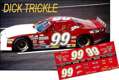 CD/_2348 #99 Dick Trickle Ford Mustang  1:64 scale DECALS