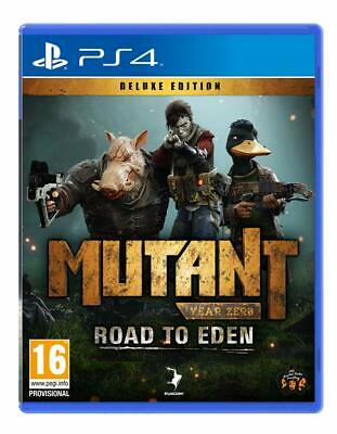 Mutant Year Zero: Road to Eden - Deluxe Edition (PS4) (New) - (Free Postage)