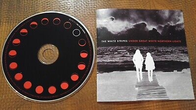 THE WHITE STRIPES UNDER GREAT WHITE NORTHERN LIGHTS 2010 CD mint! ALT ROCK BLUES