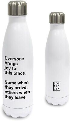 Funny Work Quote Water Bottle Everyone Brings Joy To This