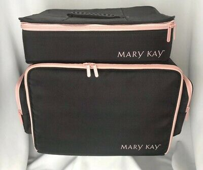 "MARY KAY Consultant Insulated Organizer Shoulder Bag AND 16"" Rectangular Case"