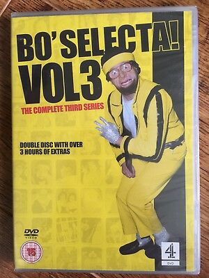 Bo Selecta Temporada 3 DVD TV Comedia Serie con Leigh Francis Keith Lemon