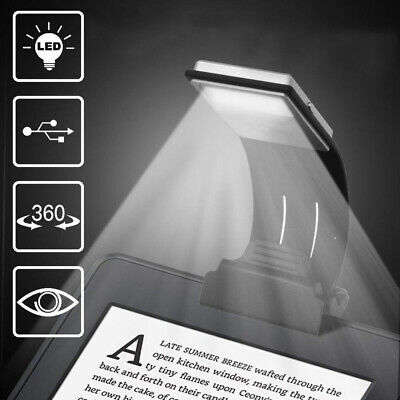 Too Goods LED Lamp USB Rechargeable Flexible Night Reading 4 Level Black