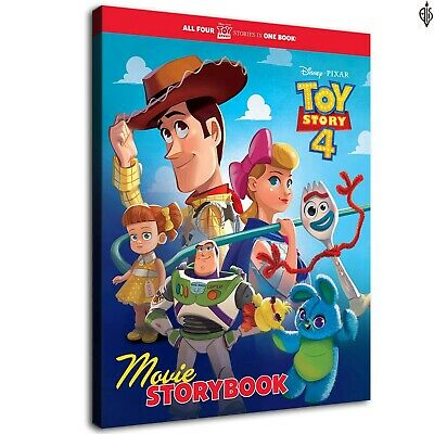 Toy story4 poster  HD Canvas prints Home Decor Wall art painting 12X16inch