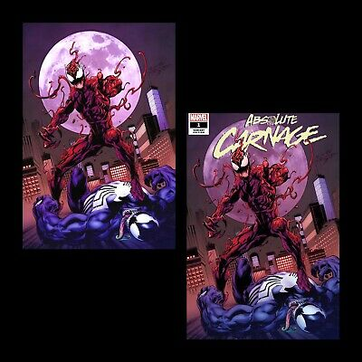 Absolute Carnage #1 Mark Bagley Virgin Variant Set Nm Presale Sonnys Comics