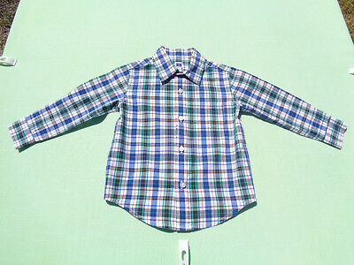 janie and jack baby boys plaid shirt size 18-24 months jetsetter prep line
