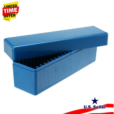 Blue Storage Box Case Holds 20 PCS Certified PCGS, NGC, ICG Slabs Coin
