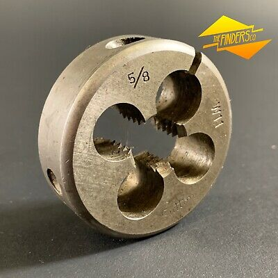 "SUTTON TOOLS 5/8"" x 11TPI BSW WHITWORTH 2"" SPLIT BUTTON DIE *NEAR NEW* STWB2"