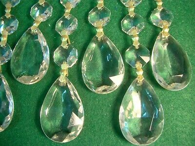 Chandelier Crystal Beads 10 Pees - Has Another Chandelier Parts ,Crystal Beats