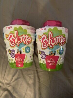 2-BLUME SURPRISE DOLLS Series 1 Add water and see who blooms 10 Surprises inside