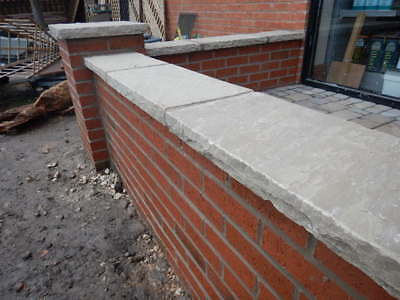 60cm Long Stone Wall Topper Coping Stone 50mm Deep With Dressed Edge 10 00 Picclick Uk